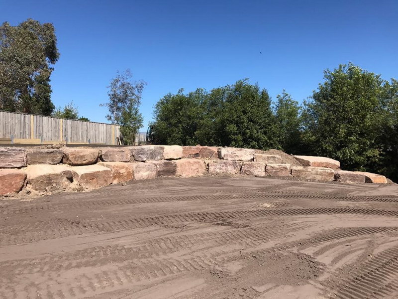 Landscaping and grounds maintenance, by Prince Excavations.